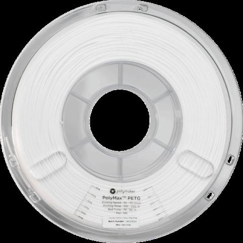 PolyMaker PolyMax PETG, 1.75 мм, 0,75кг, Белый