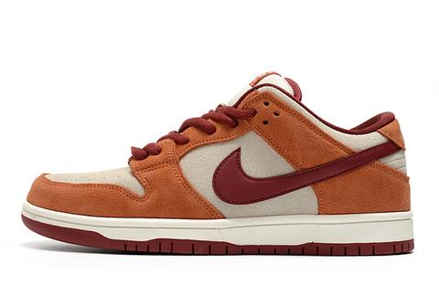 Nike Dunk Low 'Orange/Grey/Red'