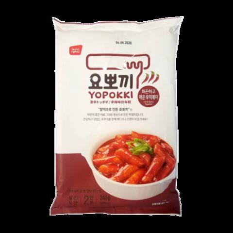 Рисовые клецки Young Poong Sweet & Spicy Topokki с остро-сладким соусом 280 гр