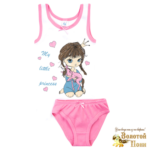 Комплект хлопок девочке (2-10) 210317-У78100