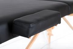 Массажный стол деревянный 2-хсекционный RESTPRO VIP 2 Black