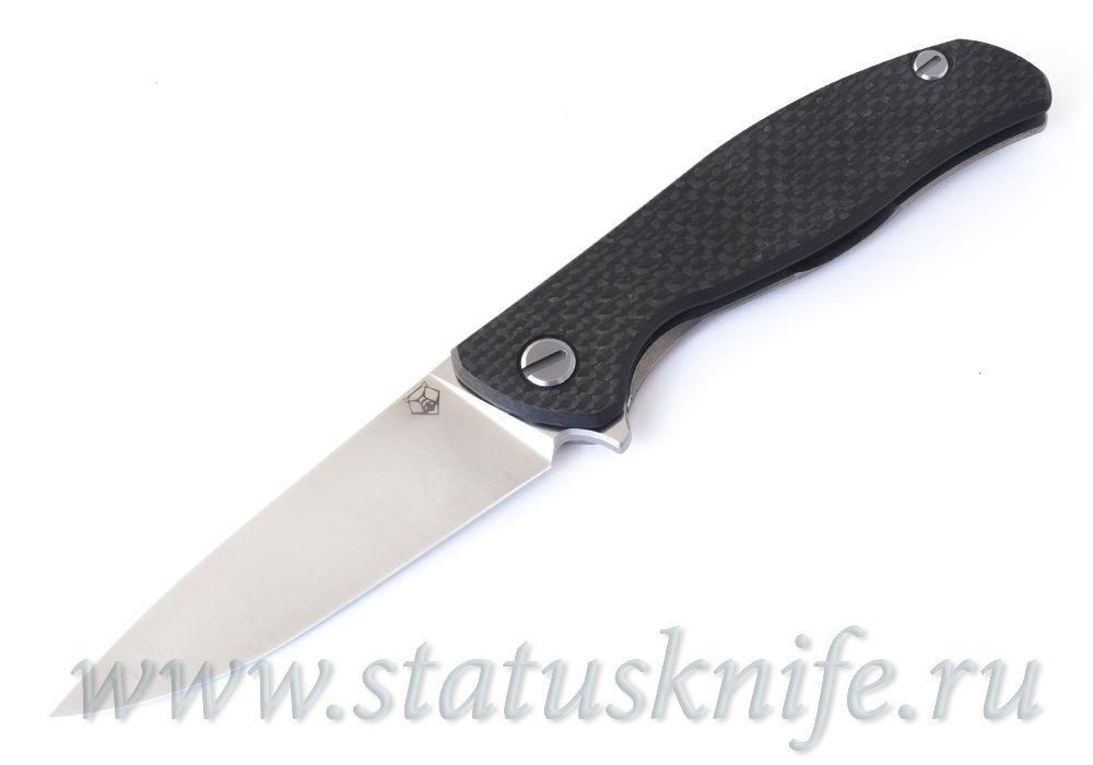 Нож Широгоров Хати Hati CowryX CF сатин - фотография