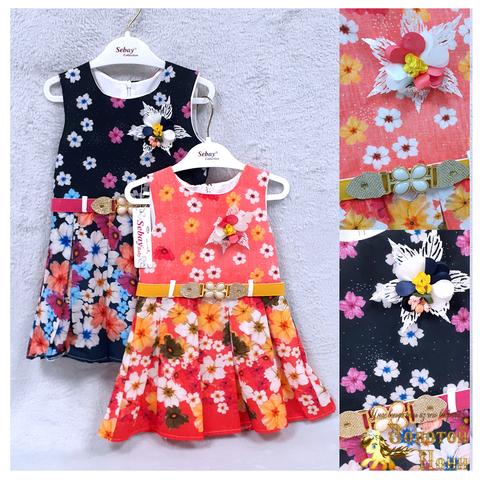 Платье нарядное девочке (2-3) 201213-Т522