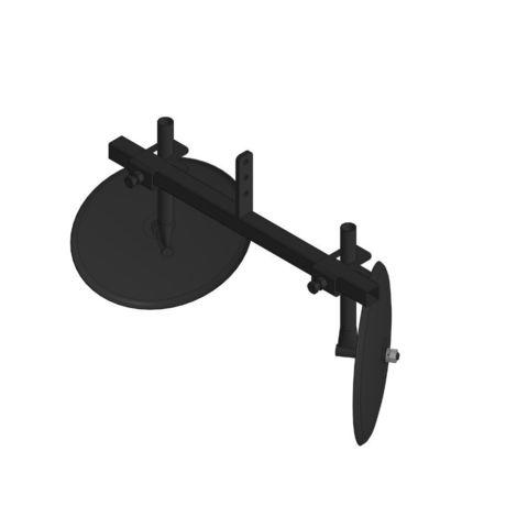 Окучник дисковый регулируемый на траверсе без сцепки