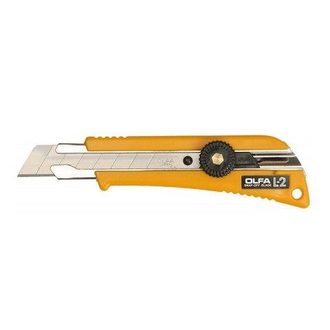 Нож OLFA с выдвижным лезвием эргономичный, 18мм