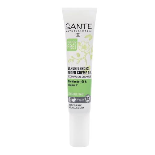 SANTE Смягчающий крем вокруг глаз для чувствительной кожи c маслом Миндаля и Витамином F