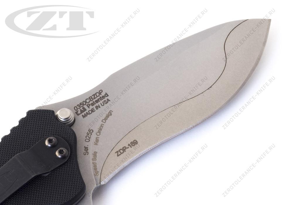 Нож Zero Tolerance 0350CBZDP Onion - фотография
