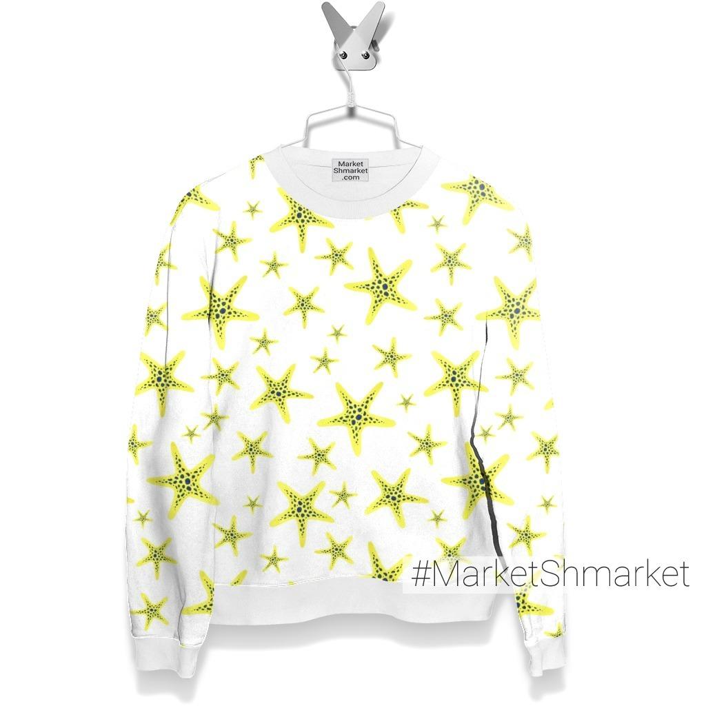 Желтые морские звезды