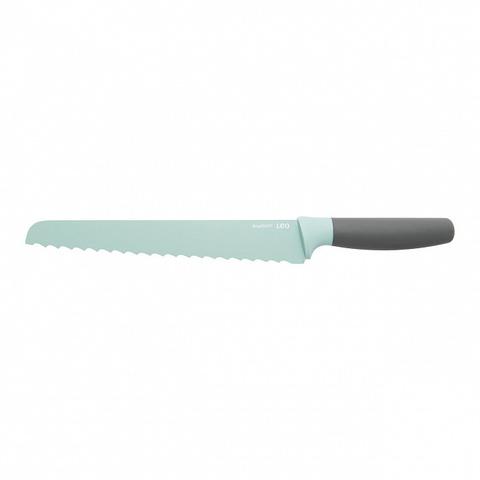 Нож для хлеба мятный с фиксированным лезвием