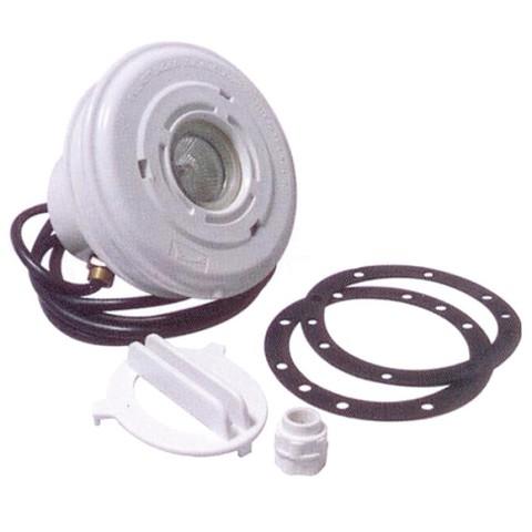 Подводный светильник 50Вт из ABS-пластика для пленочного бассейна , с закл., кабель 2,5м. PoolKing