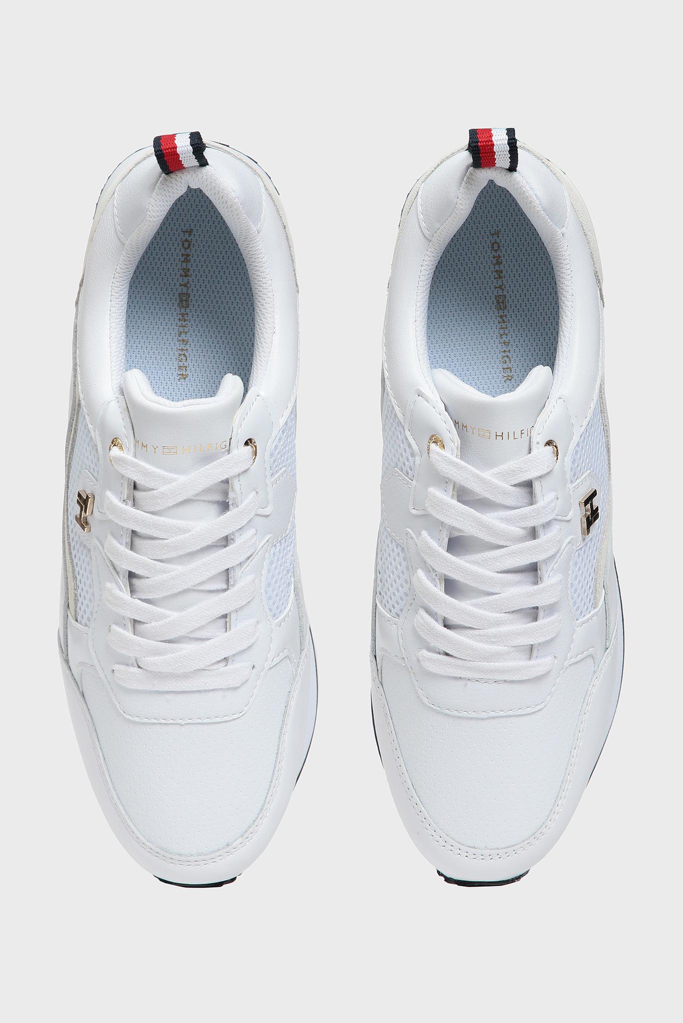 Женские белые кожаные кроссовки TOMMY DRESS CITY Tommy Hilfiger