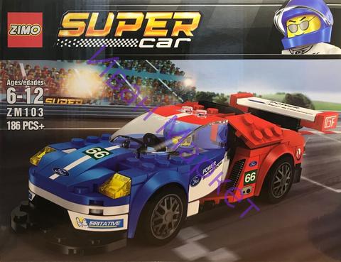 Супер Кар 103 Super Racing 186 дет Конструктор