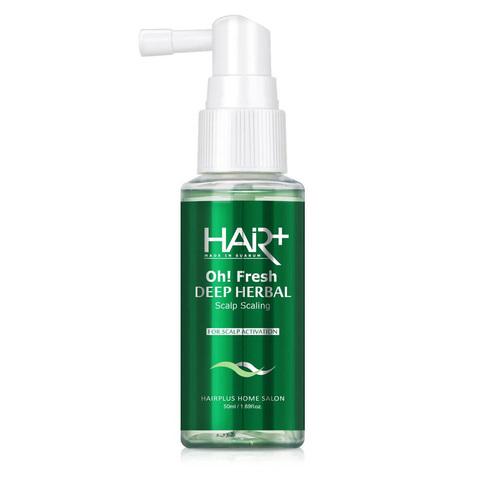 Hair+ Oh!Fresh deep herbal scalp scaling