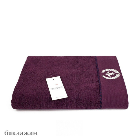 SEYMOUR - СЕЙМУР баклажан полотенце махровое Maison Dor(Турция) .