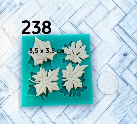 0238 Молд силиконовый. Листья ассорти