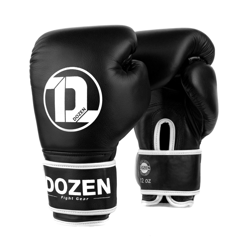 Боксёрские перчатки Dozen Monochrome Black/White главный вид