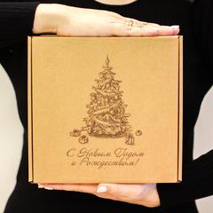 Новогодний подарочный набор сладостей HappyBox by HoneyForYou