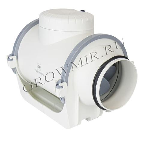 Канальный вентилятор (низкопрофильный) Soler & Palau TD EVO-100 T