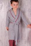 Детский тёплый халат BoboSette