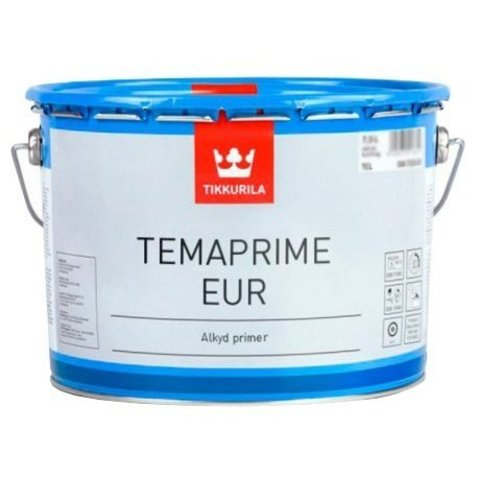 Tikkuria Temaprime EUR/Тиккурила Темапрайм ЕУР однокомпонентная алкидная грунтовка