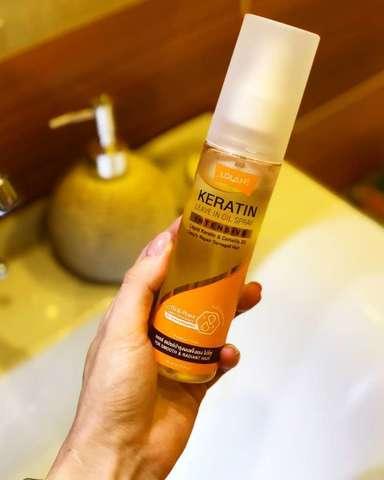 Спрей кератин для восстановления поврежденных волос Lolane купить выгодно