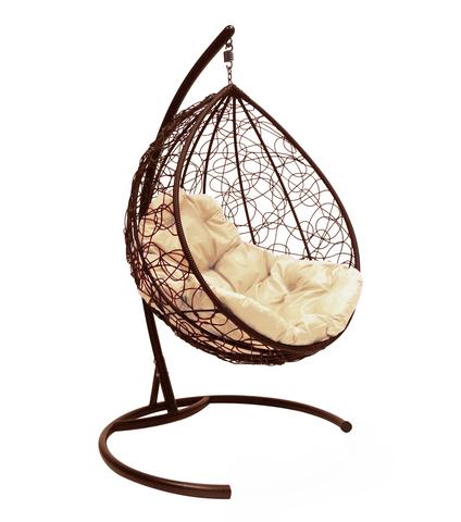 Кресло подвесное Lagos brown/beige