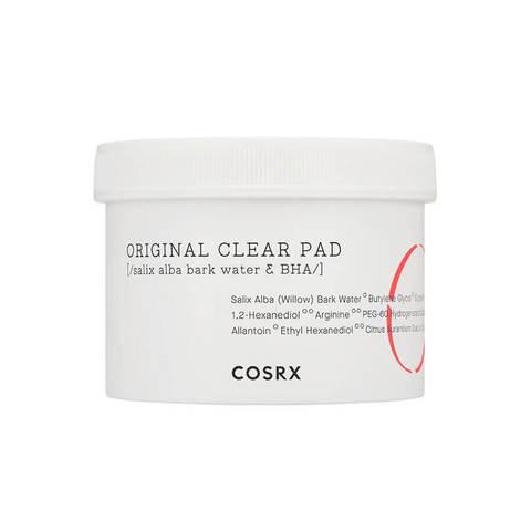 COSRX Original Clear Pad очищающие пэды для лица с BHA-кислотой