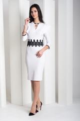 Нінель. Шикарна вечірня сукня. Білий