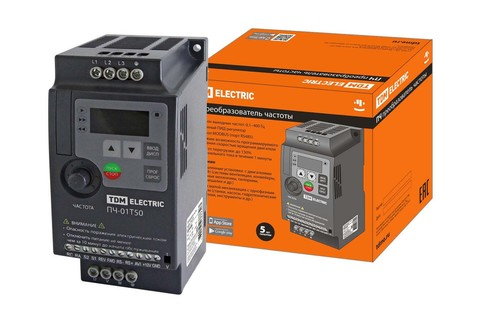 Преобразователь частоты ПЧ-01T50 380В 1,50кВт TDM