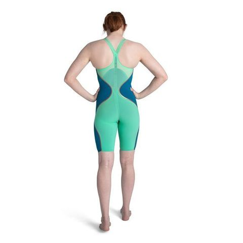 Стартовый костюм SPEEDO FASTSKIN LZR PURE INTENT Closedback Kneeskin greeb/blue ПОД ЗАКАЗ
