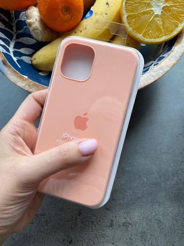 Чехол iPhone 12 (6,1) Silicone Case Full /grapefruit/