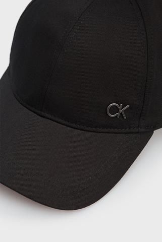 Мужская черная кепка BB CAP Calvin Klein