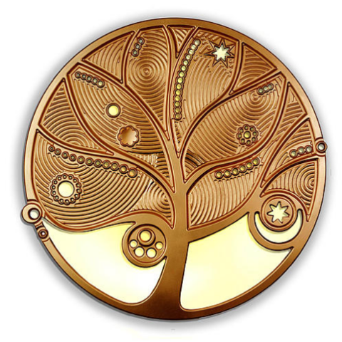 Панно ETERNITY (bronze)