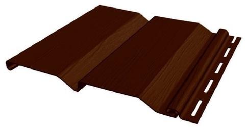 Сайдинг Файнбир Standart Extra Color темный дуб 3660х205 мм