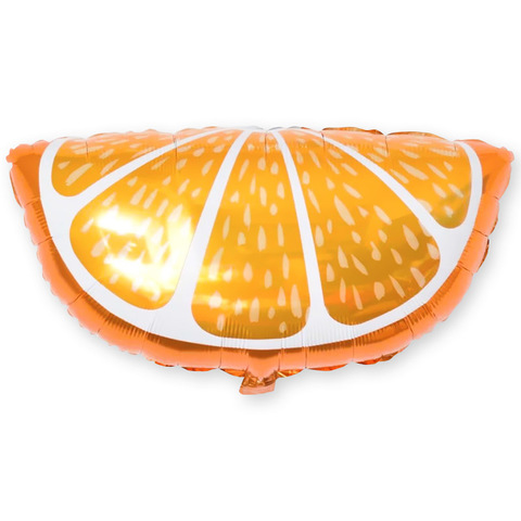 Шар фигура Долька апельсина, 66 см