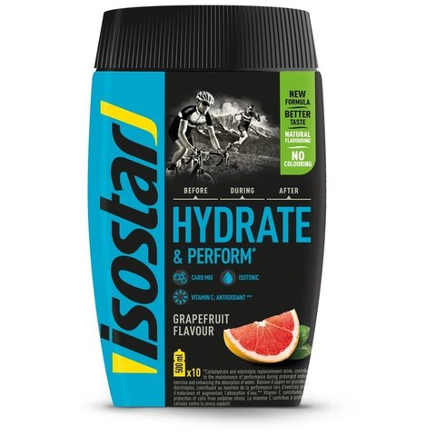 Изотоник Isostar Hydrate Perform 400г грейпфрут