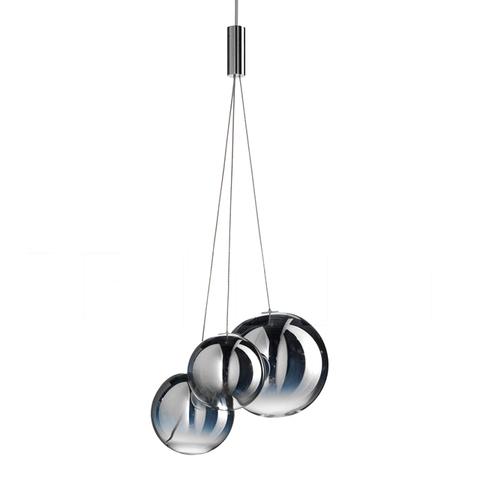 Подвесной светильник копия Random by Studio Italia Design (хром)