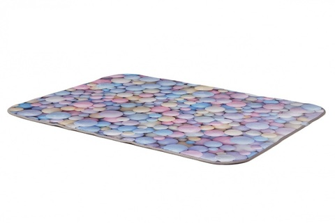Плюшевый коврик 120х160 см Bubble