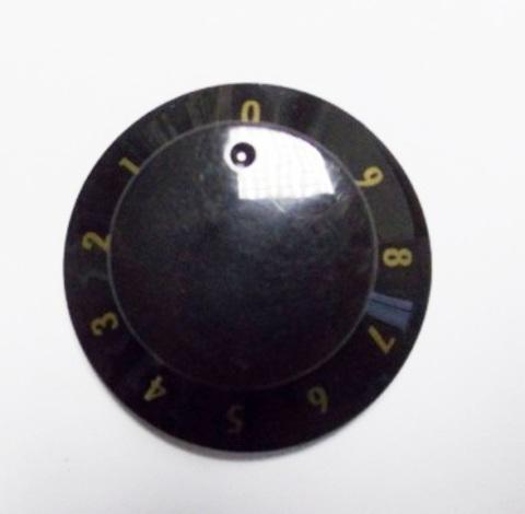 Ручка плиты 0-9 GORENJE черная