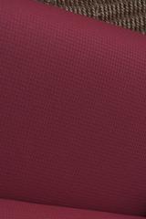 Объемный жаккард рисунок ВАФЕЛЬКА цвет КРАСНЫЙ ТЕМНЫй