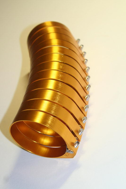 Хомуты для силиконовых пайпингов турбо системы