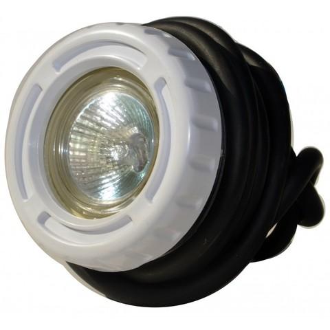 Подводный светильник 50Вт из ABS-пластика для сборн. бассейнов и ванн спа, кабель 2,5м. PoolKing