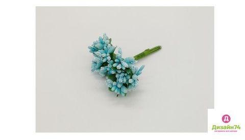 Букетики тычинок, цвет Голубой