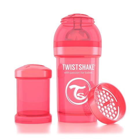 Twistshake бутылочка антиколиковая 180 мл. Персиковая (Dreamcatcher)