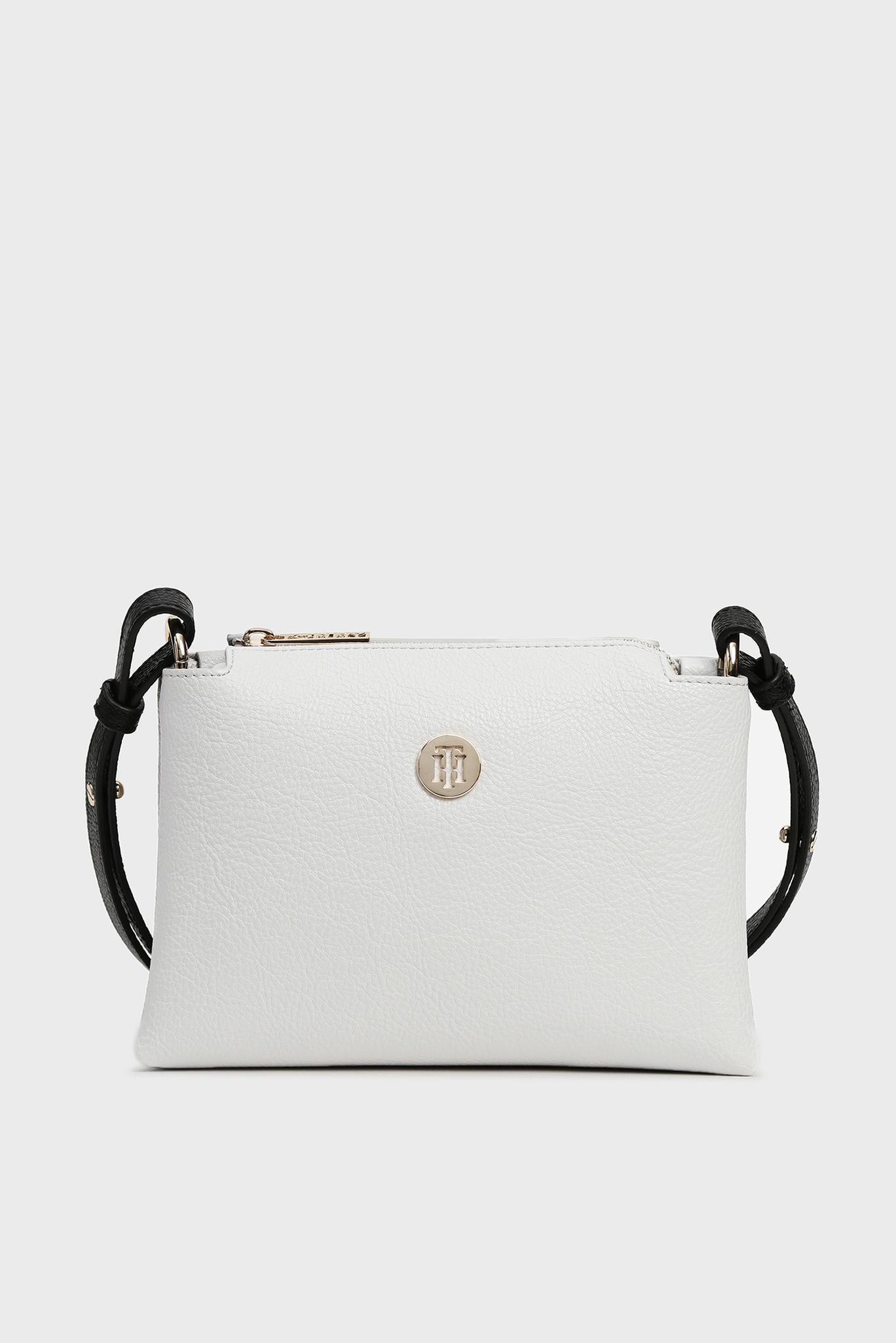 Женская белая сумка через плечо TH CORE Tommy Hilfiger
