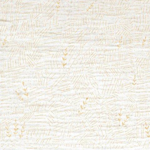 Ткань Mousseline Gold S/S WHEAT