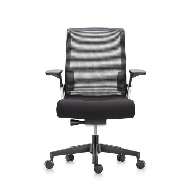 Офисное эргономичное кресло Match черная сетка - вид 2