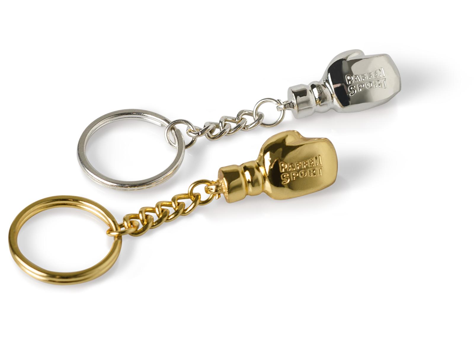 Брелок для ключей Paffen Sport в виде бокс. перчатки (металл)