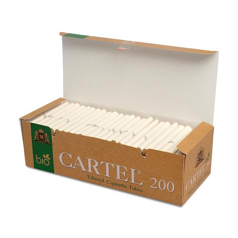 Гильзы для набивки сигарет Cartel BIO 200