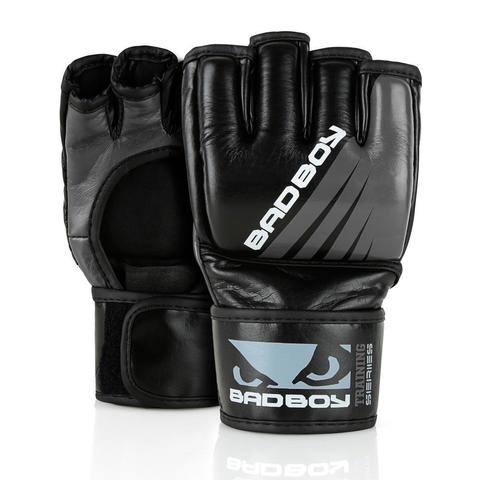 Перчатки для ММА Bad Boy Training Series Impact Without Thumb Black/Grey